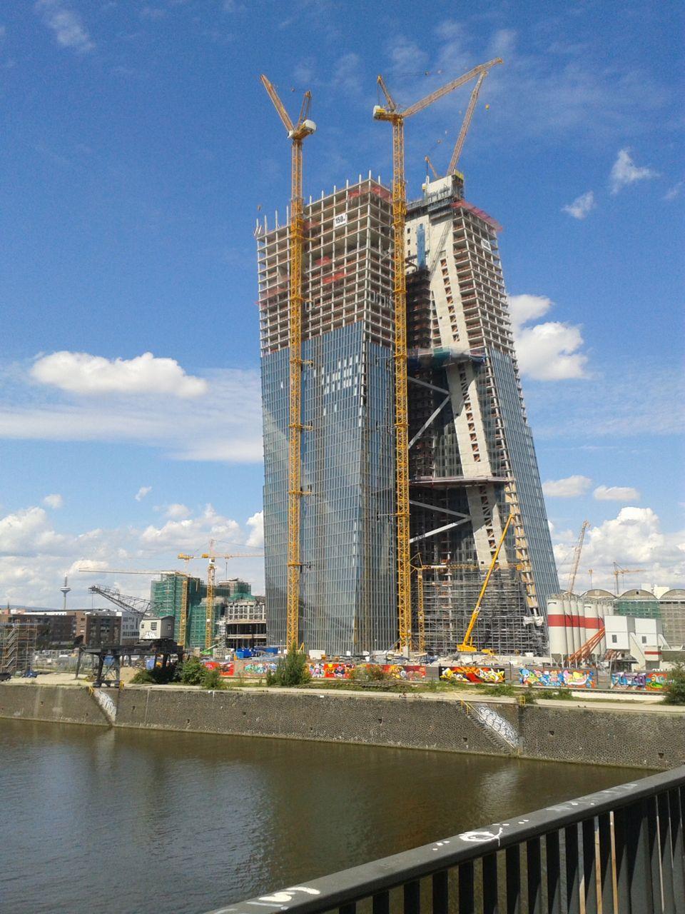Die neue EZB halbfertig