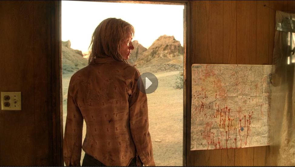 Uma Thurman in Kill Bill 2. Copyright: Miramax Films.