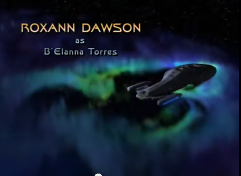 Screenshot: Star Trek Voyager. Copyright: Paramount Home Entertainment. Hier bei Amazon.