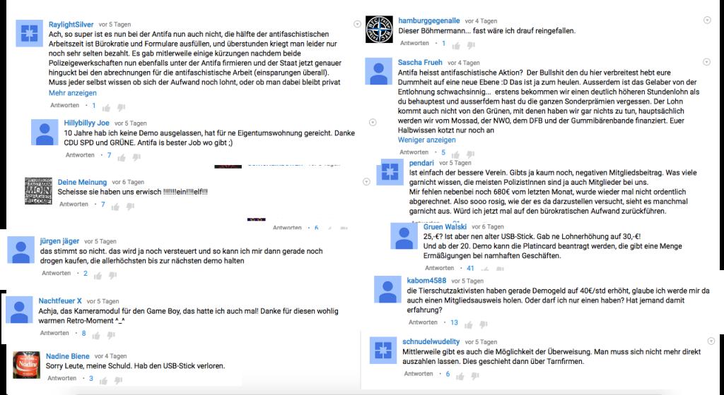 Die Antifa der Kommentare
