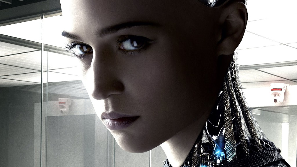 Filmplakat zu Ex Machina. Copyright: DNA Films / Film4 Productions